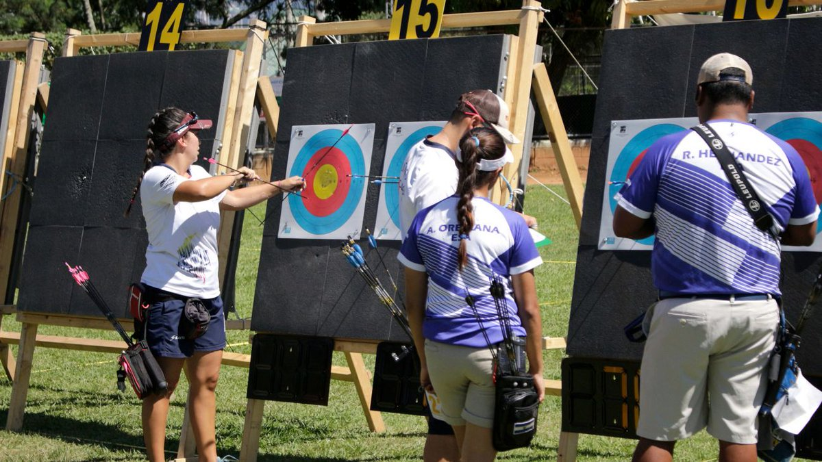 NEWS. USA 🇺🇸, Puerto Rico 🇵🇷, Colombia 🇨🇴, Mexico 🇲🇽 win first compound places at @Lima2019Juegos during 2018#PanAmArchery  Championships in Medellin  #archery  🏹🎯  https://t.co/JLSKUno8s3