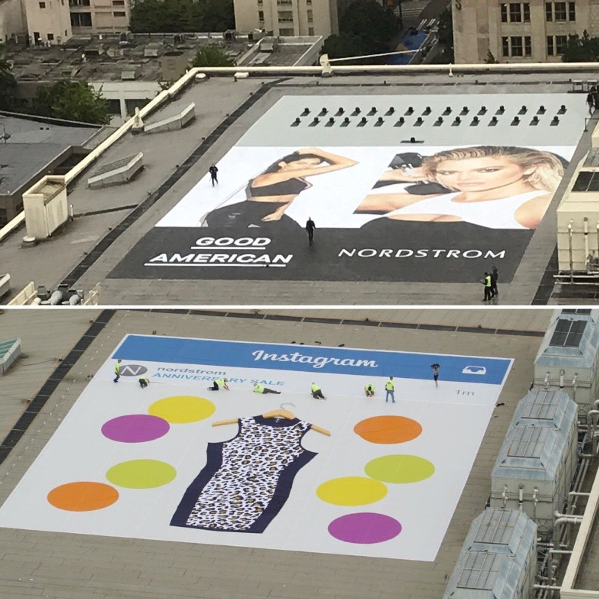 #ThrowbackThursday to 2015&#39;s rooftop Instagram post for Nordstrom&#39;s Anniversary Sale! We had so much fun working with their creative team on another great project for this year. Congrats @Nordstrom on another successful #Nsale <br>http://pic.twitter.com/lsCfzPZEOu