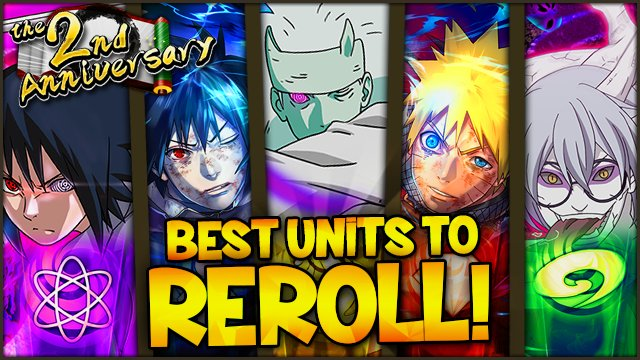 HOW TO FAST REROLL &amp; BEST UNITS TO REROLL! Tier List Guide (UPDATED)   Naruto Ultimate Ninja Blazing  https:// youtu.be/b5tve0Jk0CE  &nbsp;  <br>http://pic.twitter.com/i5QPtjIoXM