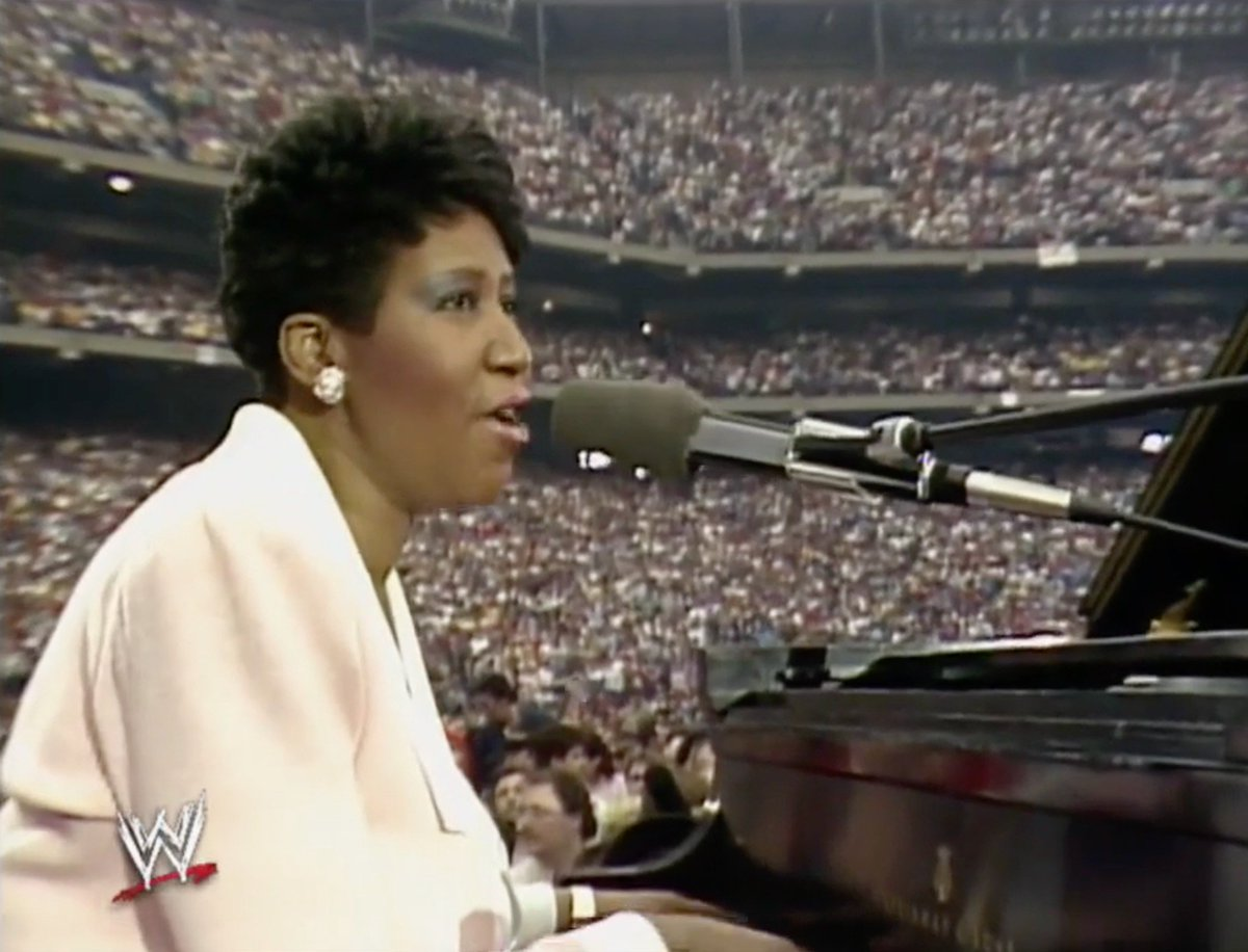 """""""America the Beautiful"""" has never been more beautiful. #ArethaFranklin"""