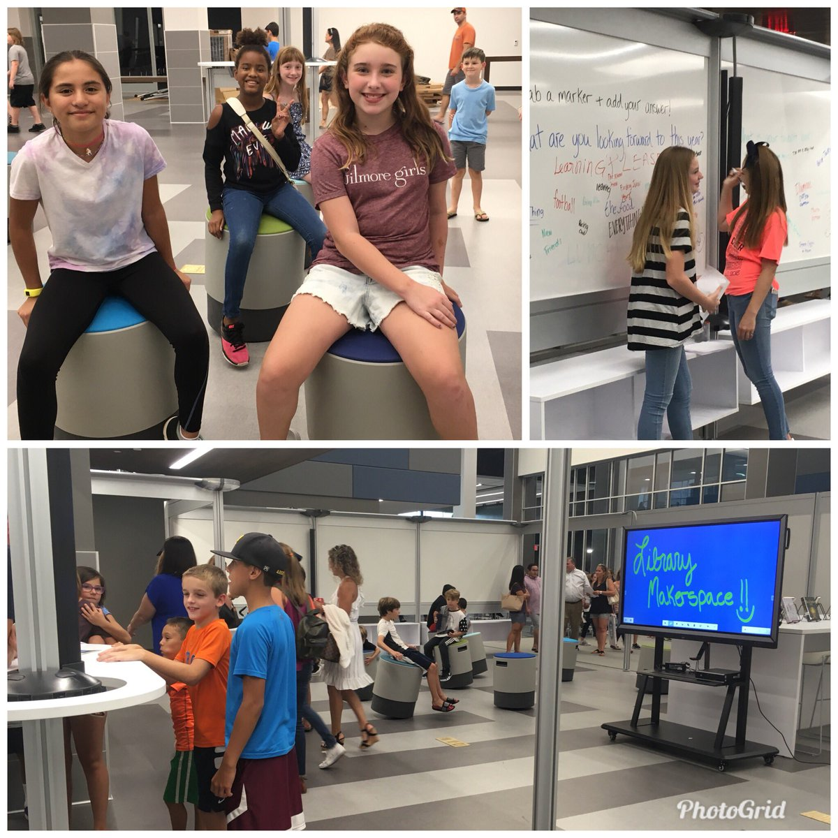 7th &amp; 8th graders enjoyed the library makerspace, a place for students to inquire, explore, design, &amp; create! See you again soon, Hawks! @HofiusKISD #hawksinthehouse #librarypromise #momentsinklein<br>http://pic.twitter.com/2ZLl2cQJ1j