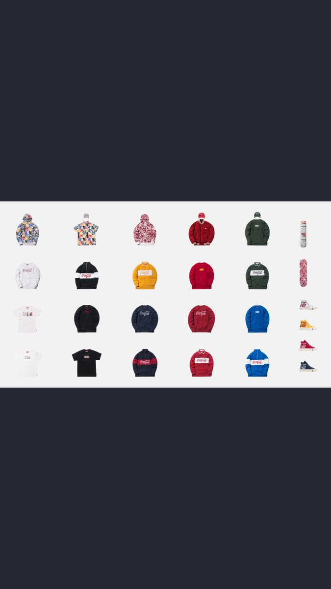 KITH X COCA COLA   KITH X COCA COLA X CONVERSE  AUTO CHECKOUT SERVICE/ SLOT  PLEASE DROP YOUR EMAIL IN THE COMMENT ALONG WITH THE ITEMS YOU WANT, LUCKY  PEOPLE WILL GET AN EMAIL FROM LYNUXSOLUTION@GMAIL.COM ASKING FOR YOUR SLOT INFORMATION  LIKE + RT FOR A FREE SLOT!<br>http://pic.twitter.com/oc9Q1VDqVT
