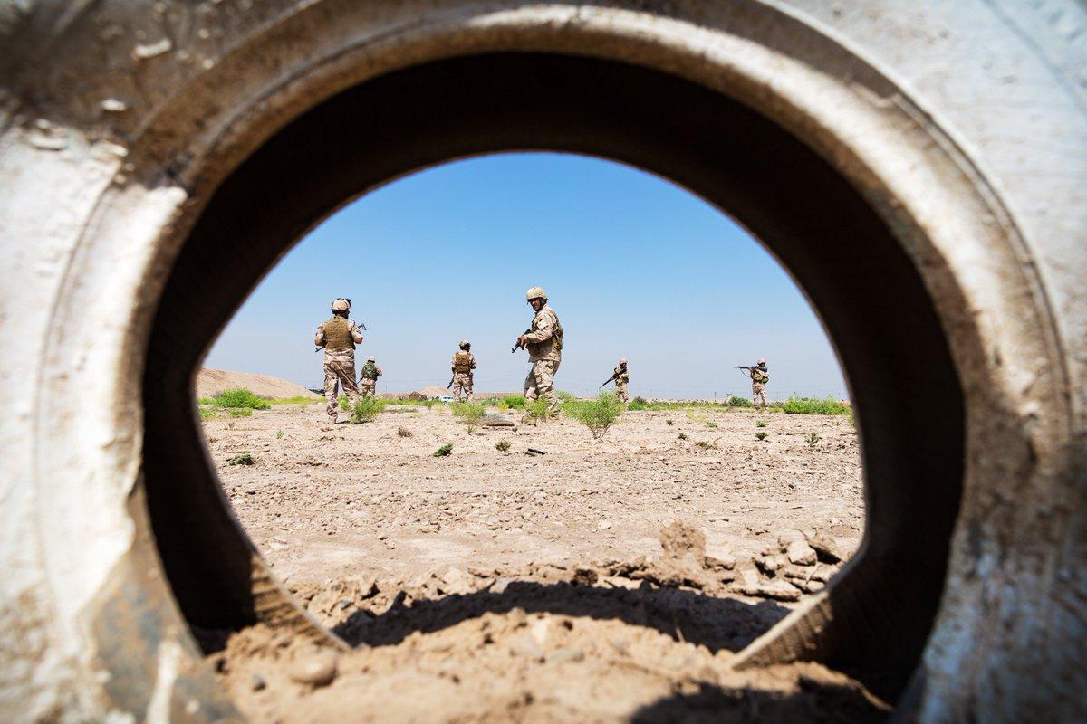 جهود التحالف الدولي لتدريب وتاهيل وحدات الجيش العراقي .......متجدد - صفحة 3 Dkwz1pPUUAANTie