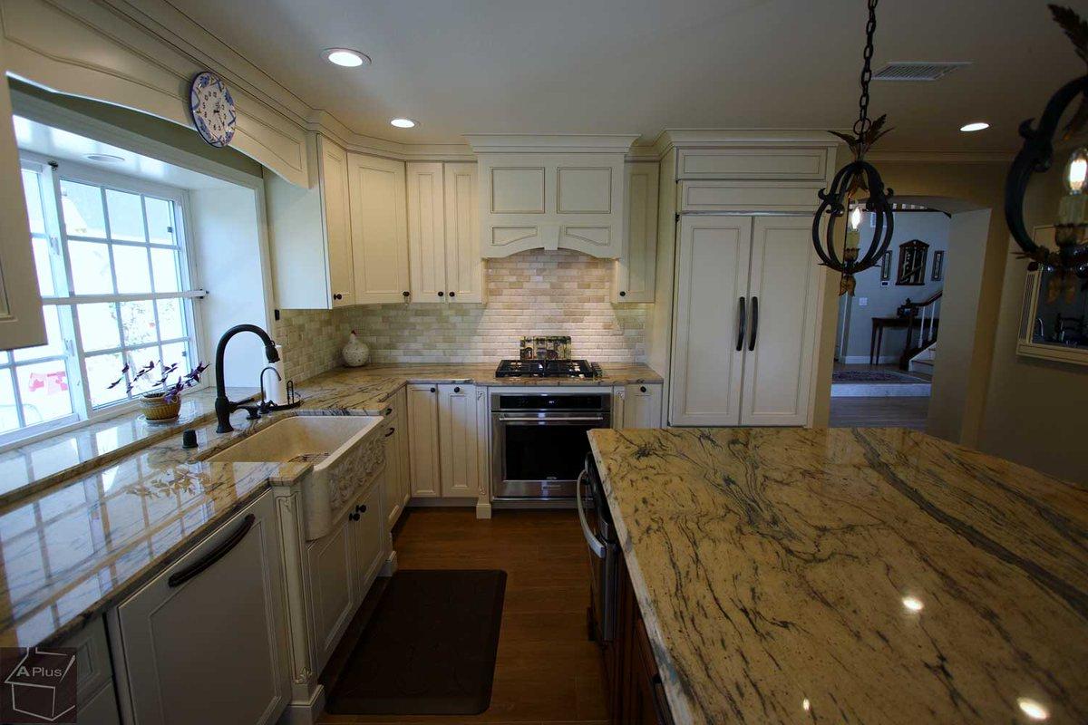 ... City Of Irvine, Orange County.  Http://www.aplushomeimprovements.com/portfolio_page/131 Irvine Kitchen Remodel/  U2026 #KitchenCabinetsOrangeCounty #cabinets ...
