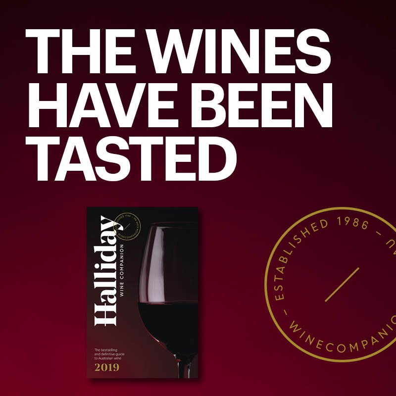 The bestselling and definitive guide to Australian wine is now on sale. The 2019 Halliday Wine Companion guide contains over 9,000 new tasting notes and you can get your hands on a copy here: http://bit.ly/2OGUdwT #hallidaywinecompanion2019 #jameshalliday