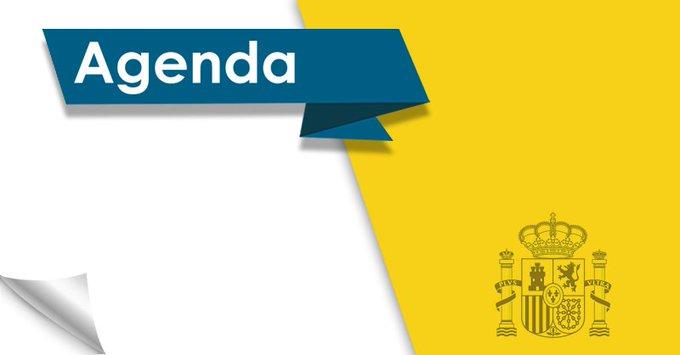 Buenos días. #FelizFinde. Esta es la agenda del Gobierno para el viernes 17 de agosto. Photo