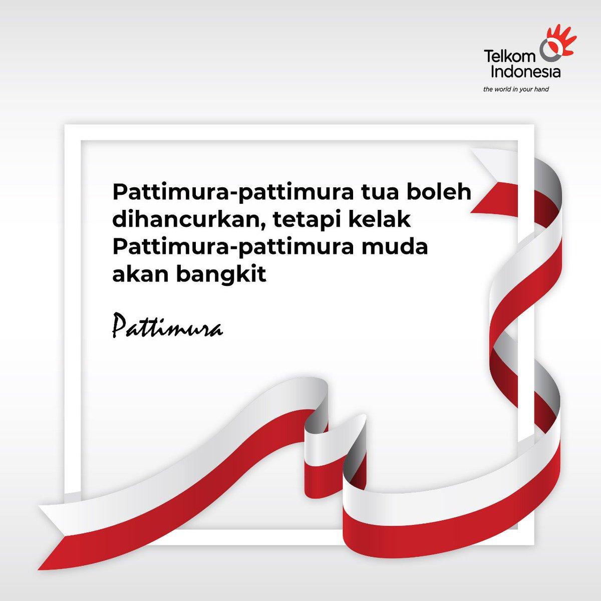 """Telkom Indonesia on Twitter: """"Kata-kata mutiara: Walaupun para pejuang  telah gugur, bangsa ini akan tetap kuat dengan hadirnya generasi muda yang  berkualitas. #73ThnIndonesiaBUMNHadirUntukNegeri #AsianGames2018…  https://t.co/MH2Po743ir"""""""
