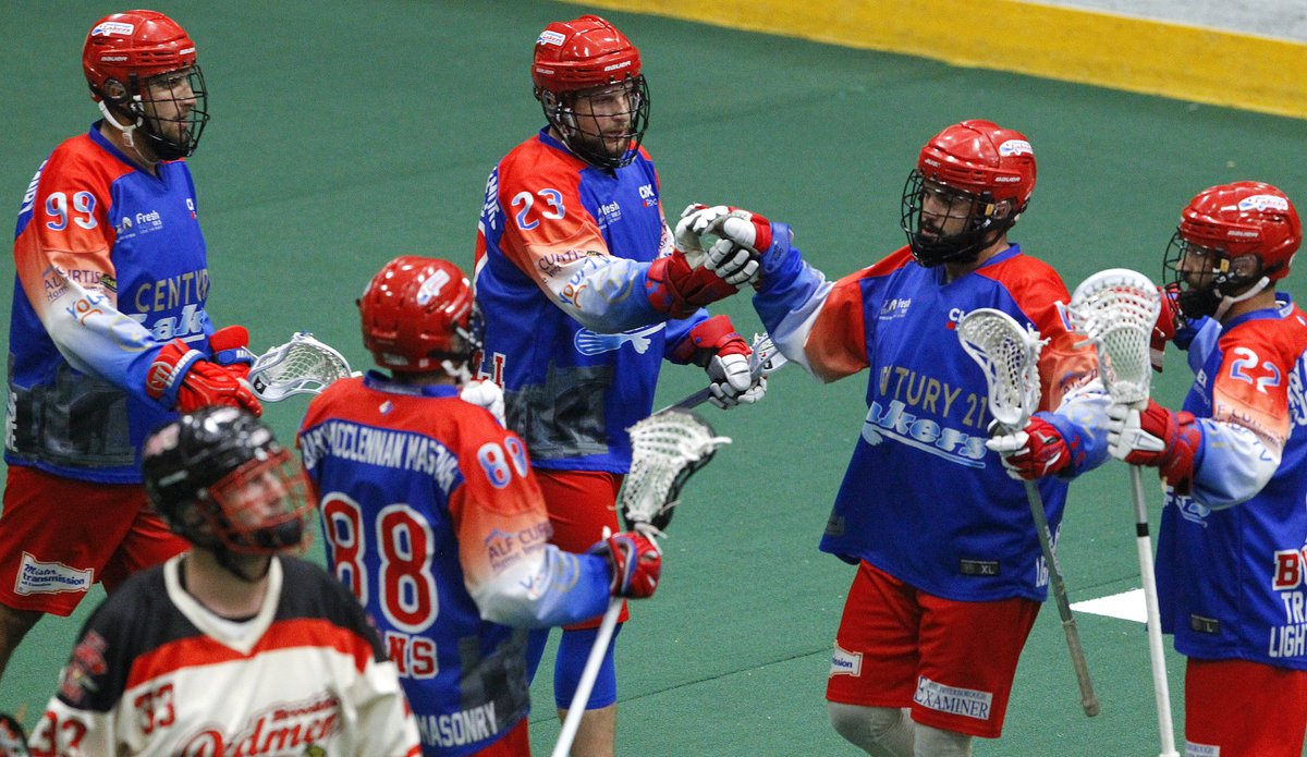 Glorious! With @REALBobbyRoode in the house, the Peterborough Century 21 Lakers @PtboLakersLax have defeated the Brooklin Redmen @Brooklin_Redmen 13-7 to take Game 7 of their Major Series Lacrosse semi-final series. #ptbo @CityPtbo @PtboCounty @HiawathaFN @CurveLakeFN