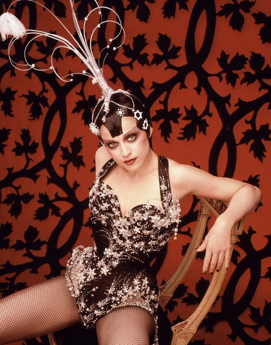 Happy Birthday Madonna  Photographed by Herb Ritts, 1997