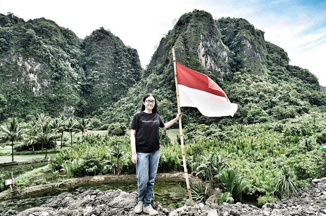 nadira irdiana on happy rd independence day