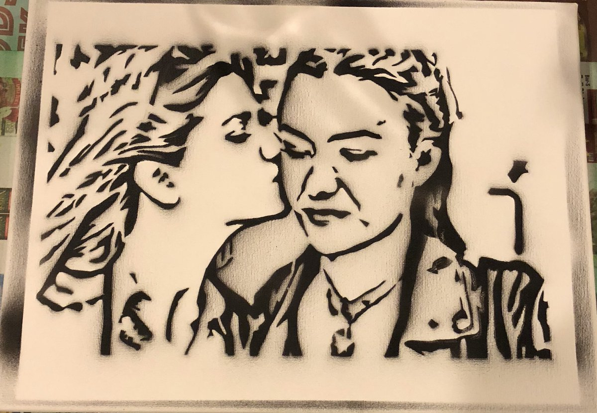 With the exciting news that a pilot script is being worked on I had to create some @carmillaseries art. #graffitiart #creampuffs @KindaTV_<br>http://pic.twitter.com/t7JAnKUu9M