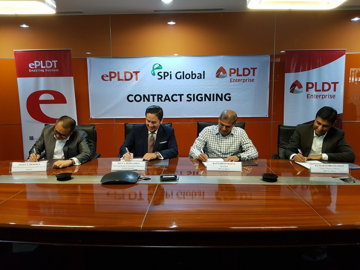 Epldt Inc On Twitter Transformation Ongoing Spi Global Seals The Deal With And Pldtenterprise For Its Adoption Of Microsoft Office365