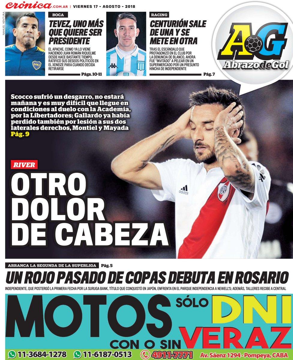 Diario Crónica's photo on Scocco