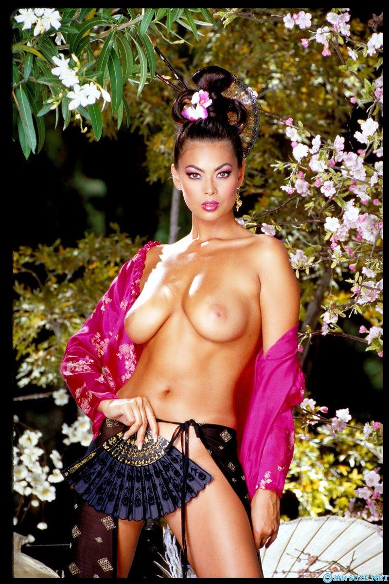 Ming Na Wen Topless