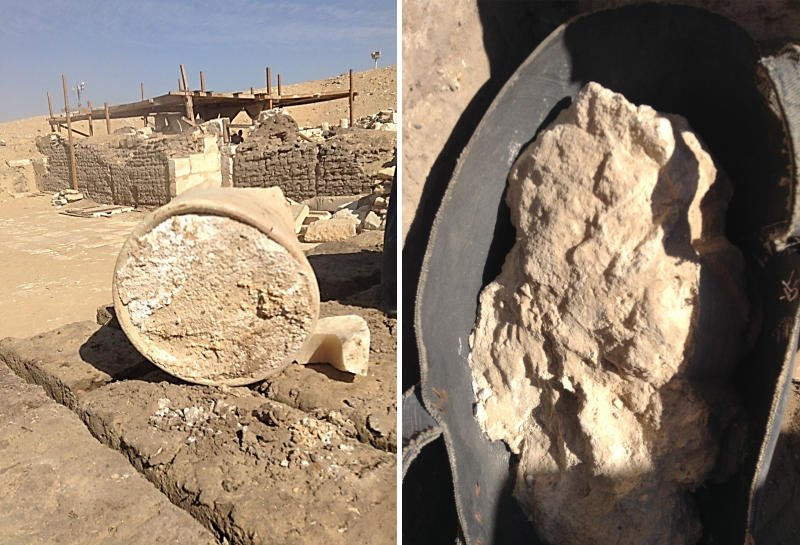 Archaeologists find 3,200-year-old #cheese in an #Egyptian tomb https://t.co/zhW8asDi3m https://t.co/UVnu5vGkmv