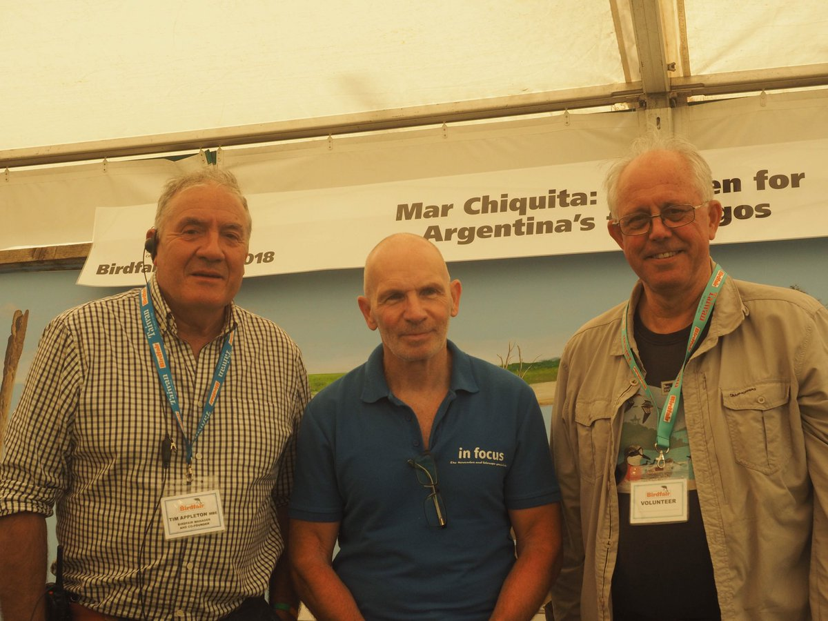30 years ago @Rutlandbirds @infocusOptics and Martin Davies @RSPBbirders put together the idea of @TheBirdfair @RutlandWaterNR and now every year it attracts 350 exhibitors 25,000 visitors and raises £350,000 for nature conservation @BirdLife_News Happy 30th<br>http://pic.twitter.com/nDret6m2qn