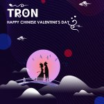 Image for the Tweet beginning: #TRON Happy Chinese Valentine's Day