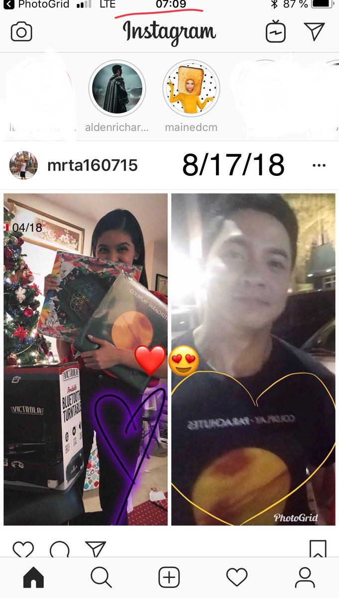 Hayan ha 24 hrs monitoring their IGs  laging on contact with one another  MAICHARD is REAL  #ALDUBHatidAySaya<br>http://pic.twitter.com/kKPBwyw2nx
