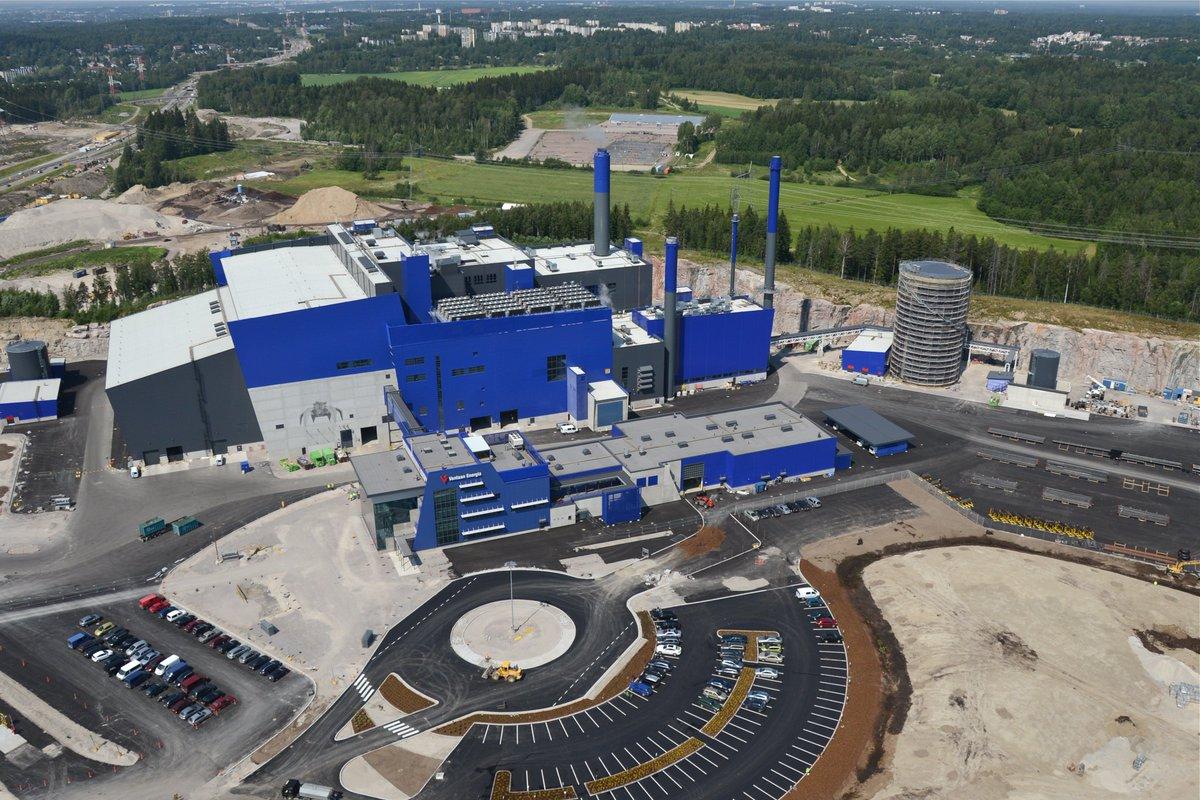 Картинка мусороперерабатывающего завода