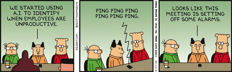 I wish you all a productive weekend   #meetings, #meeting, #productivity, #timemanagement, #business, #AI, #humor   Please follow this great group of social people!  #FF, #followfriday @FrRonconi  @DrJDrooghaag  @avrohomg  @antgrasso  @m49D4ch3lly  @akwyz  @rik_ferguson<br>http://pic.twitter.com/EJIHbEL0n1