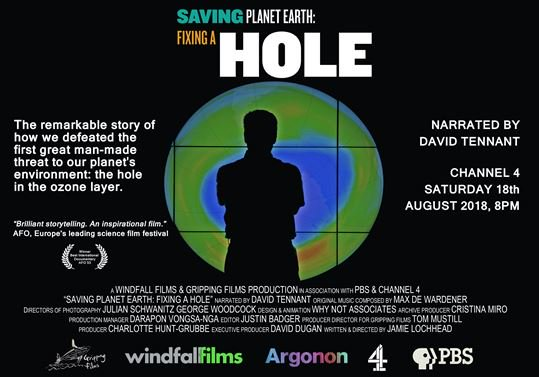 BAS's Jonathan Shanklin features in Saving Planet Earth: Fixing a Hole TONIGHT on Channel 4 8pm. Watch to find out more about how the ozone hole was discovered & tackled bas.ac.uk/data/our-data/… @windfall_films