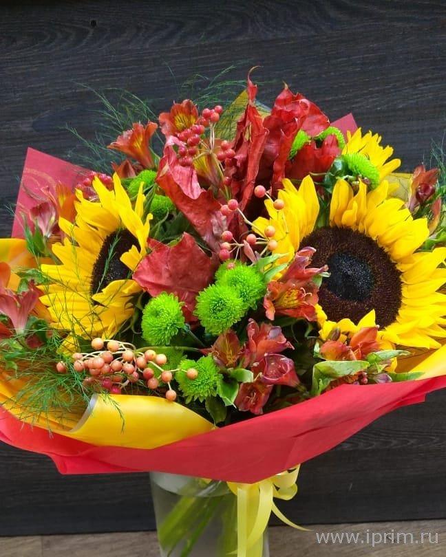Необычные букеты цветов ко дню учителя
