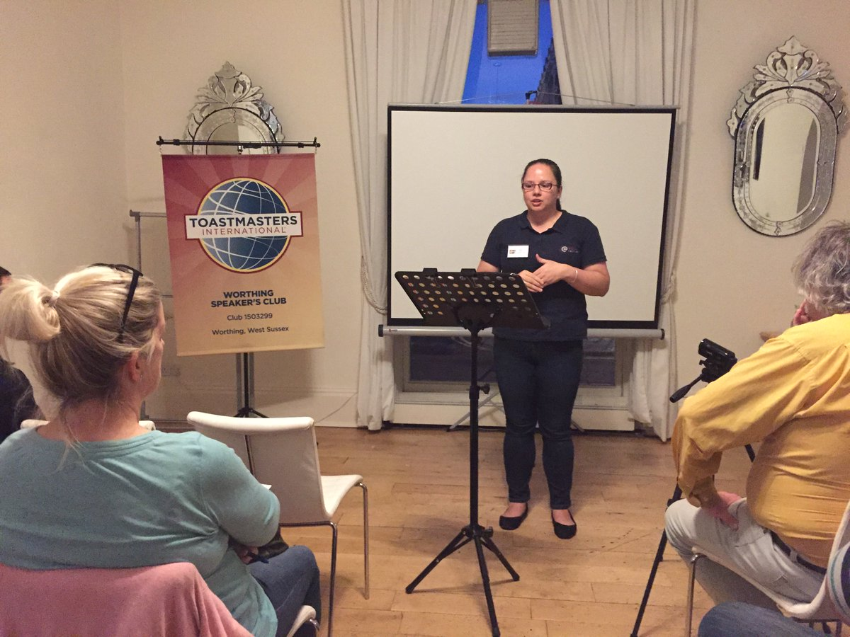 We had a superb meeting last night! Thank you to everyone who came along, both members and guests. It was super lovely to see so many new faces. Great speeches and educational slot delivered. Everyone did a fabulous job with their roles.  #Toastmasters #Publicspeaking <br>http://pic.twitter.com/lS9AWVMYlh