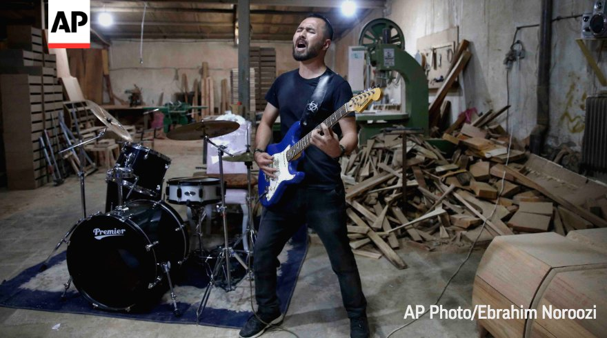 Arikayn, a rock band made up of Afghan immigrants, is struggling to strike the right note in Iran while facing discrimination. https://t.co/idcw0XGGih