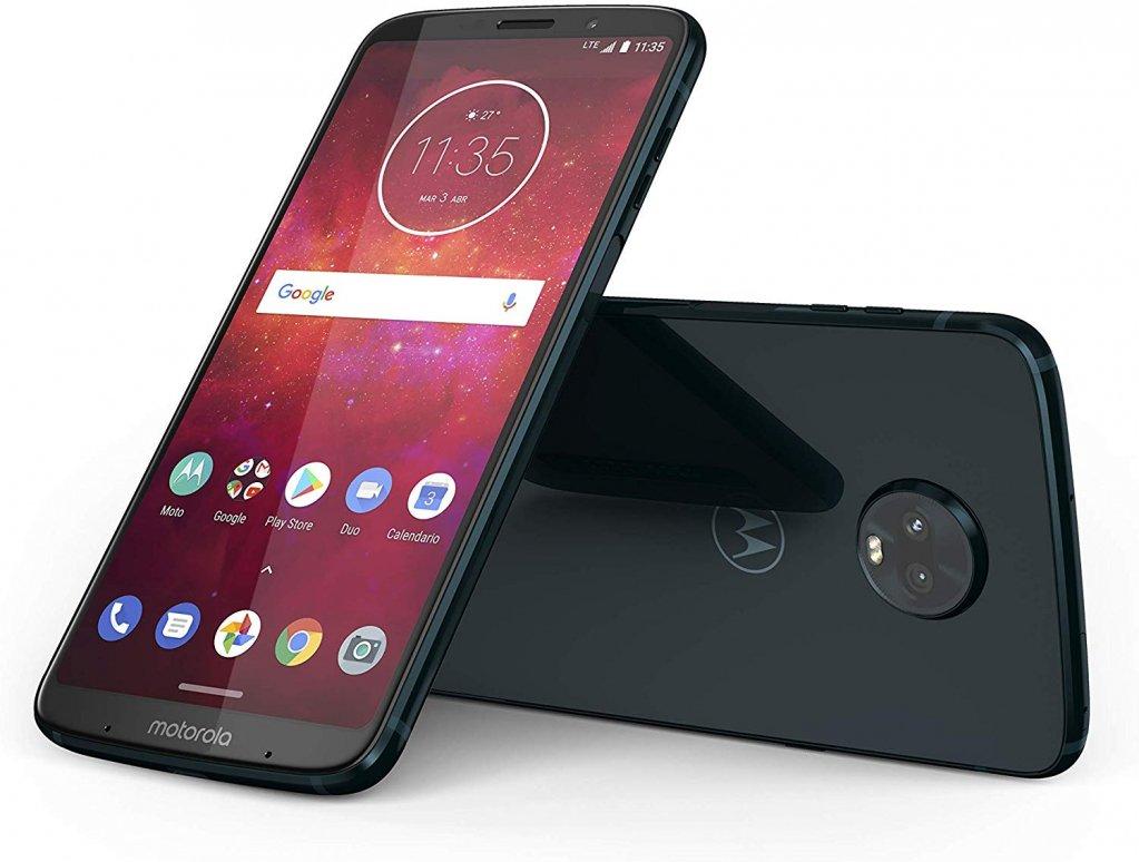 #Motorola #Moto #Z3 #Play #Smartphone da 64 GB, #Deep #Indigo In #offerta a 399,00€ invece di 499,99€ https://amzn.to/2uVH3UC  - Ukustom