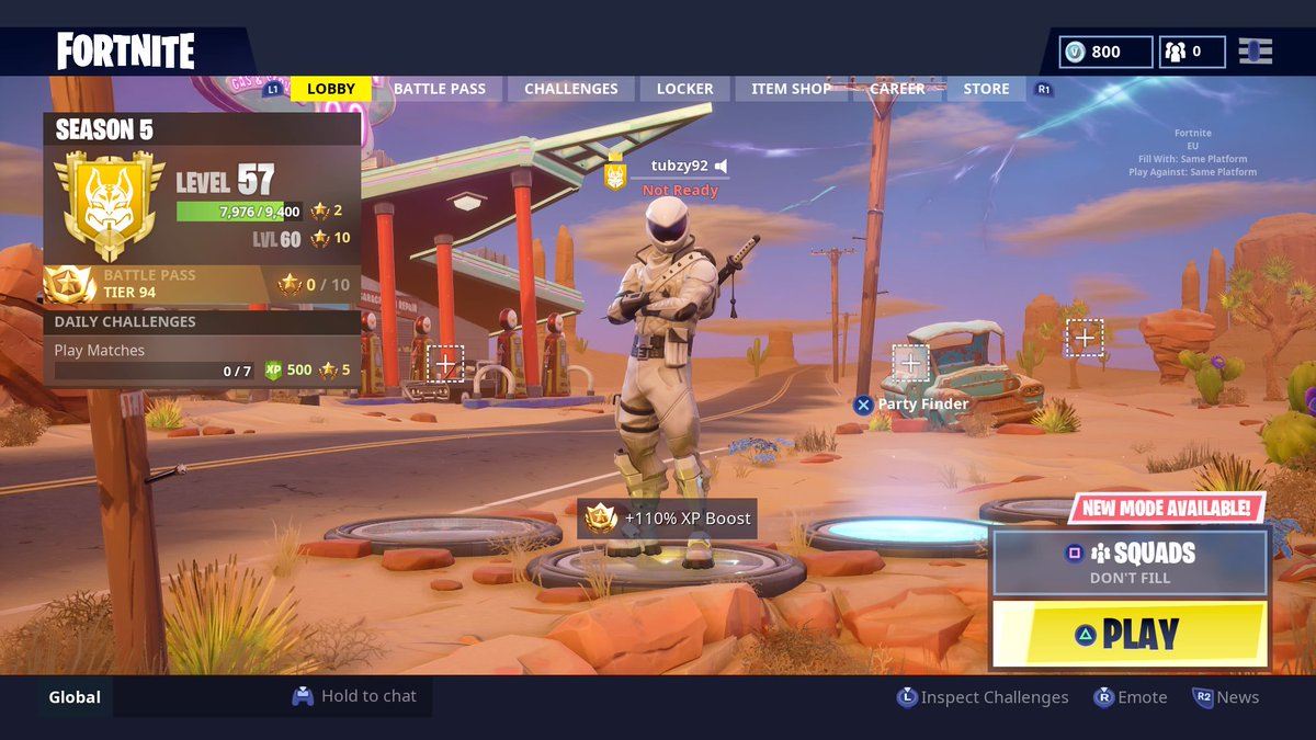 Some say he has over 1000 wins and is officially banned in tilted towers........  All we know is he&#39;s called the Stig! @spartangamiing @lastword91 @NoneFictionMLG @DromasGamerHD @FortniteBR @Twitch_Rizzan @HGamerOfficiall @Ninja_Games_TV @PotatoSquadTV #Fortnite <br>http://pic.twitter.com/Vc9b7to9BT