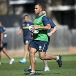CAPTAIN'S RUN | See all the photos from the Blue & Gold final training run ahead of the Storm.  Photos: https://t.co/M8sq72bI3S #blueandgold #NRLStormEels