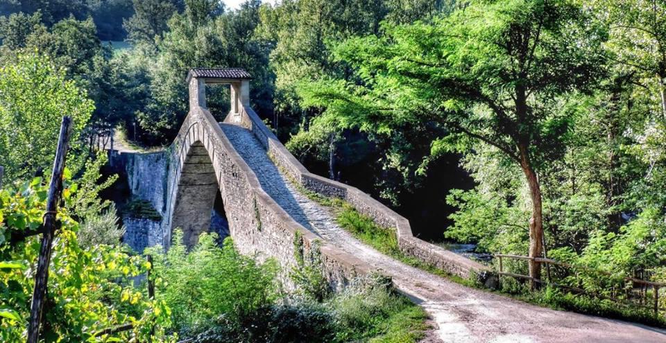 La straordinaria bellezza del Ponte di Olina Da 500 anni collega le provincie di #Modena e #Pistoia Ph Intorno al Monte Cimone  - Ukustom