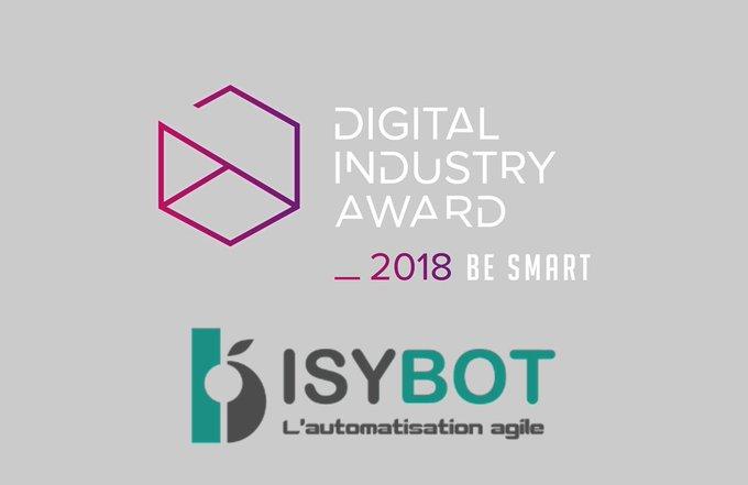 #DigitalIndustryAward Le 16 octobre prochain, venez découvrir @isybot, finaliste catégorie #Sm...