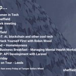 Image for the Tweet beginning: Upcoming tech and digital events