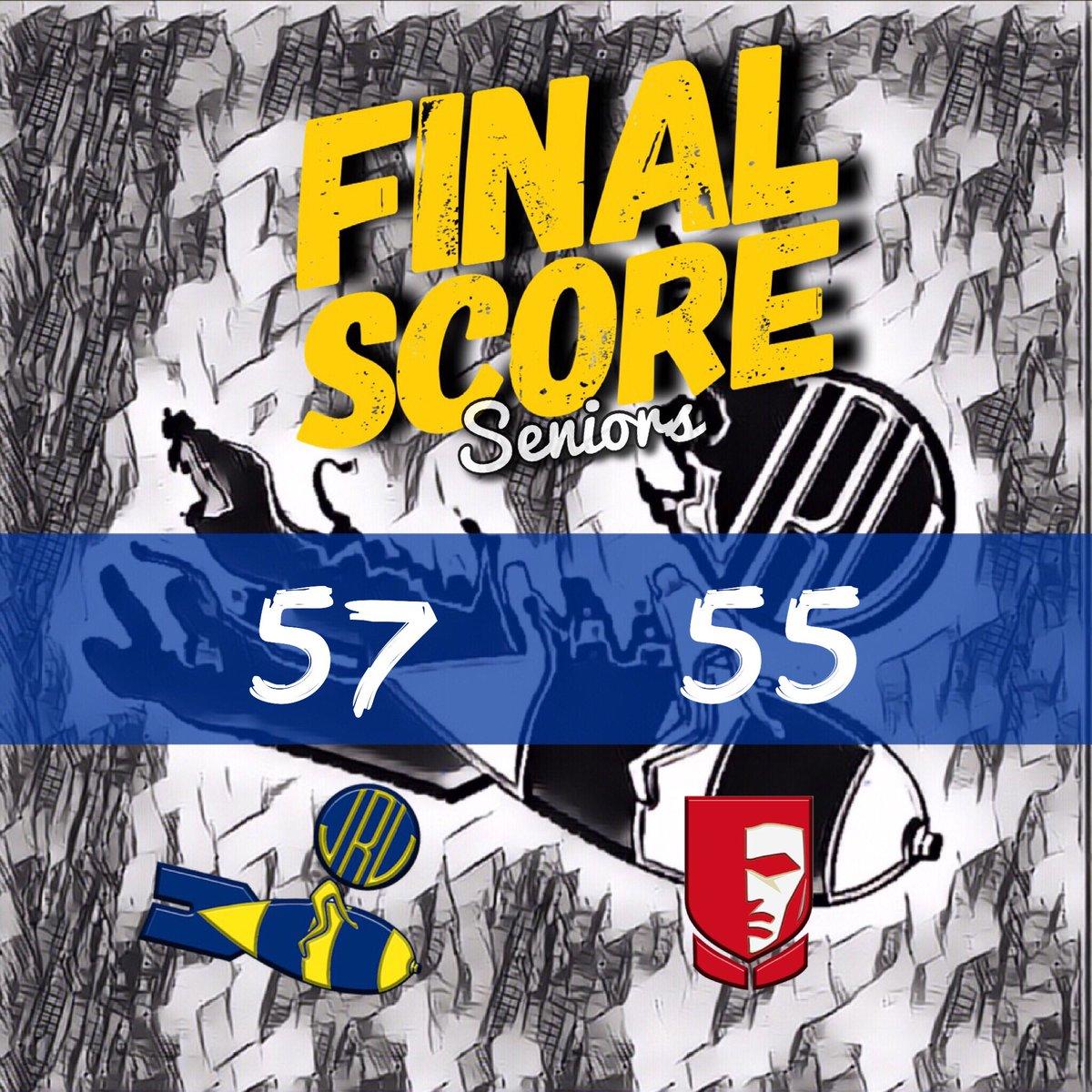 JRU Heavy Bombers defeated EAC Generals, 57-55.  Best Player: Mark Mallari  12pts 3rebs 4ast 1stl  #NCAASeason94 #MabuhayRizal #GalingJRU<br>http://pic.twitter.com/5cAgVuKwpI