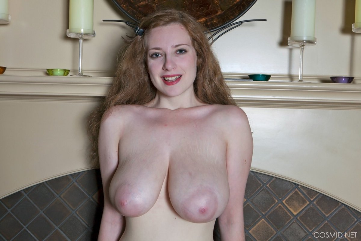 Massive natural breasts