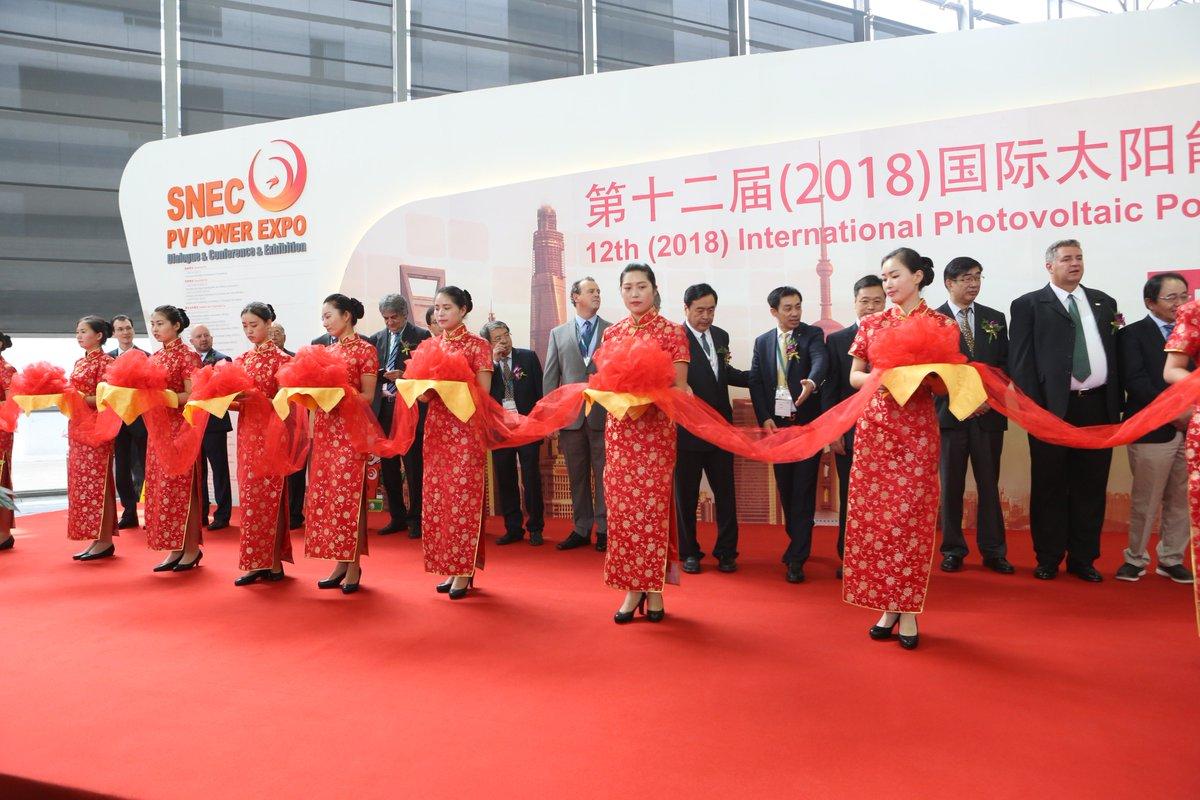 SNEC 2018 Exhibition  Opening Ceremony https://t.co/KNVKj3d1jx