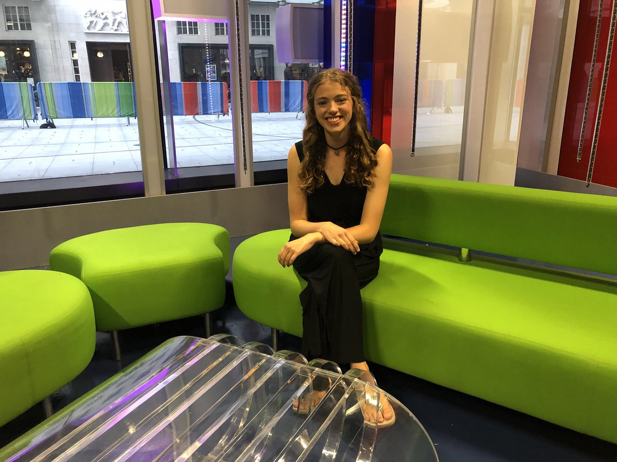 To top off a truly incredible and HECTIC day yday, I somehow ended up on @BBCTheOneShow (not to mention alongside @TomDaley1994 and Gabrielle!!) and appeared on national TV!  SO grateful for these blessed adventures xxx <br>http://pic.twitter.com/mt9EK7Qadj