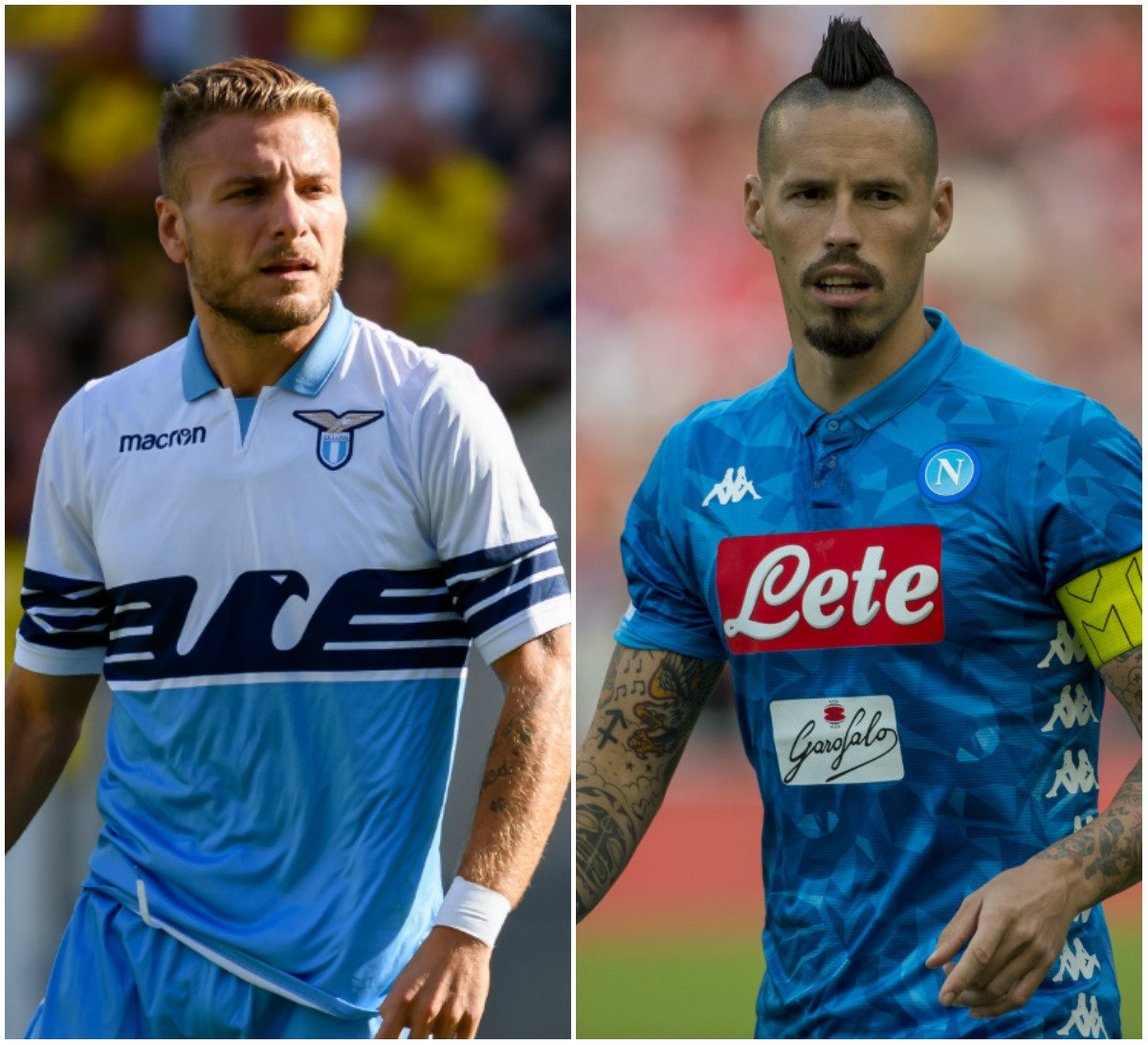 #UEL group stage side @OfficialSSLazio host #UCL hopefuls @sscnapoli tomorrow... Who will win?