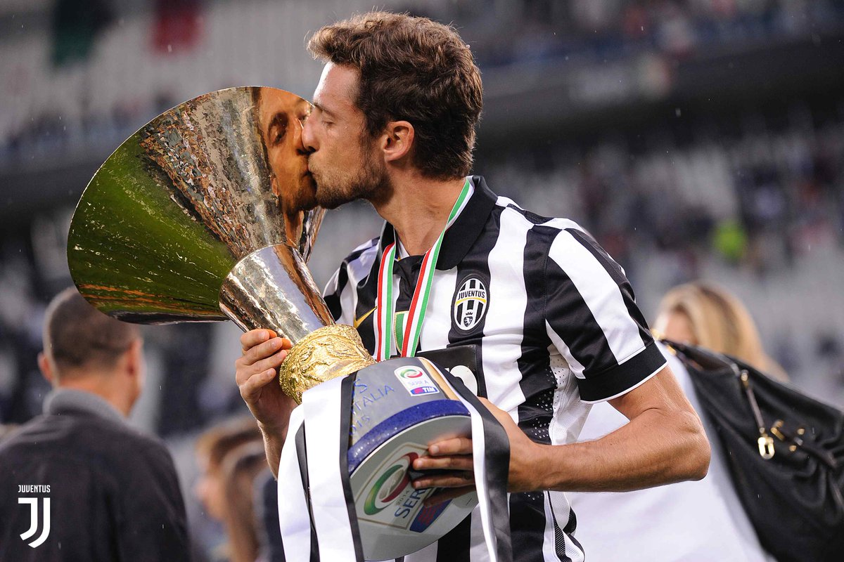 Image result for Claudio Marchisio with trophy