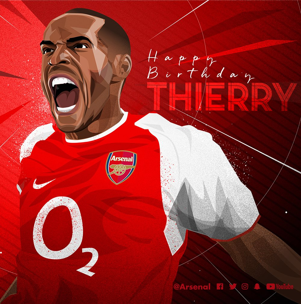 🔴 377 appearances ⚽️ 228 goals  There'll only ever be one @ThierryHenry 👏