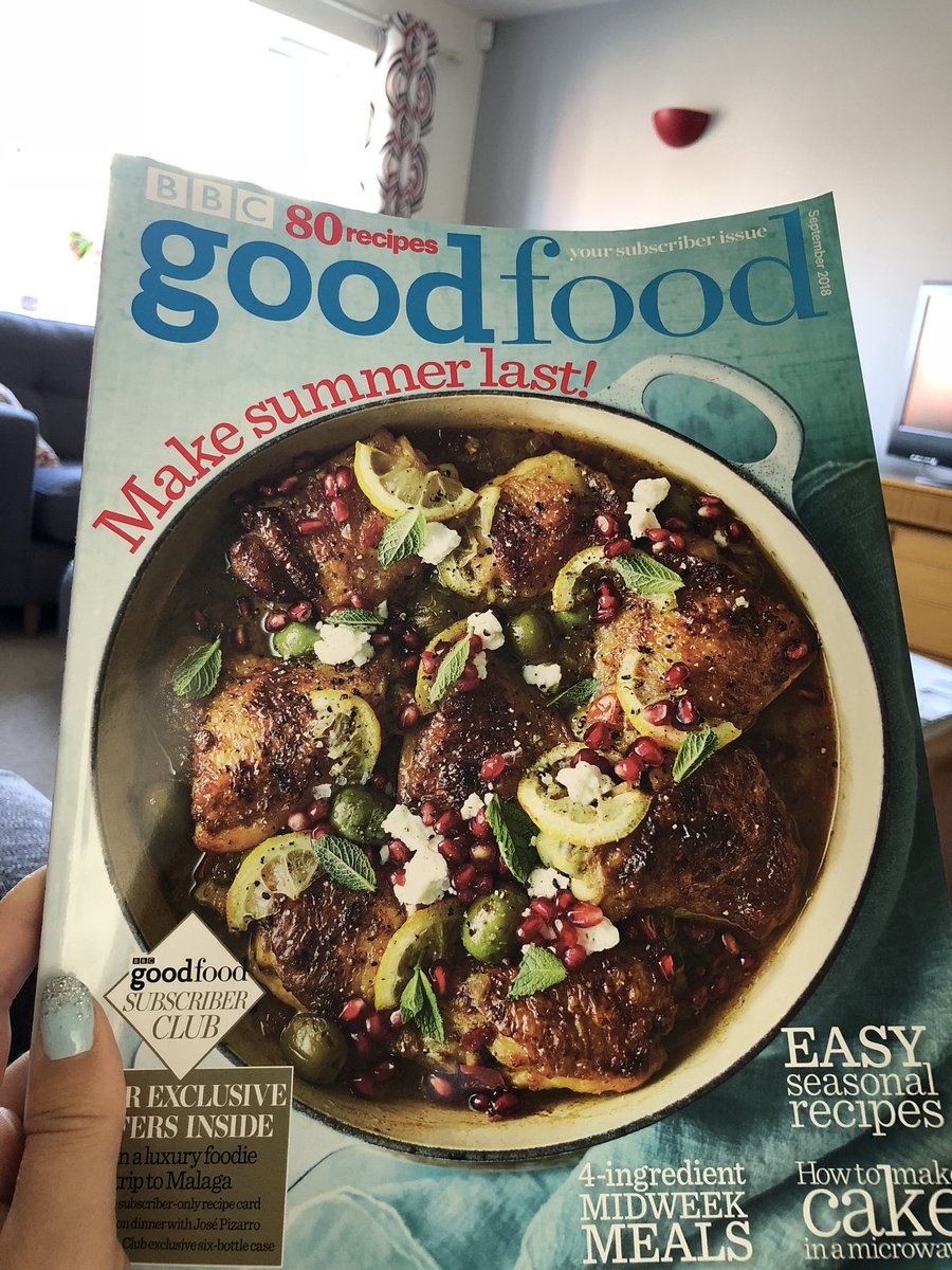 Bbc good food bbcgoodfood twitter summer holidays are the only time i get to read it fresh in the morning with a coffee goodfood wishiwasachef foodiepicitterxzzhpb2hfb forumfinder Images
