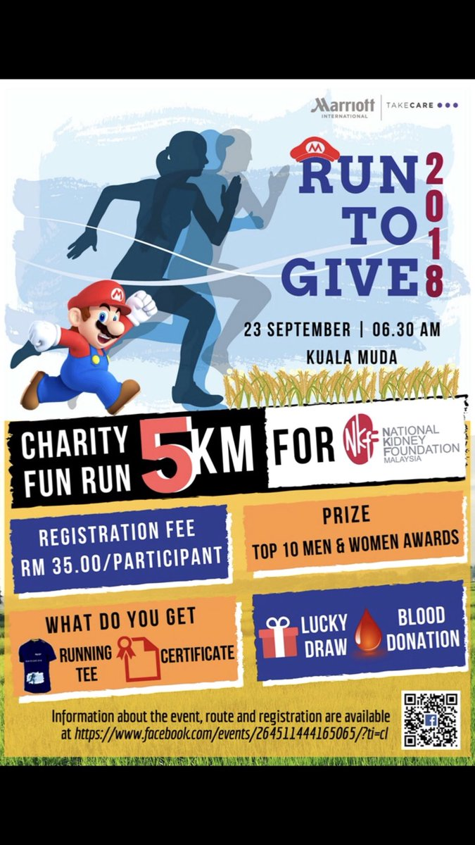 Guys do join a charity event by Ritz Carlton Langkawi. Rm35 for registration and t-shirt dm me if you interested to join or to buy the shirt.  <br>http://pic.twitter.com/Dh6DANoYi7
