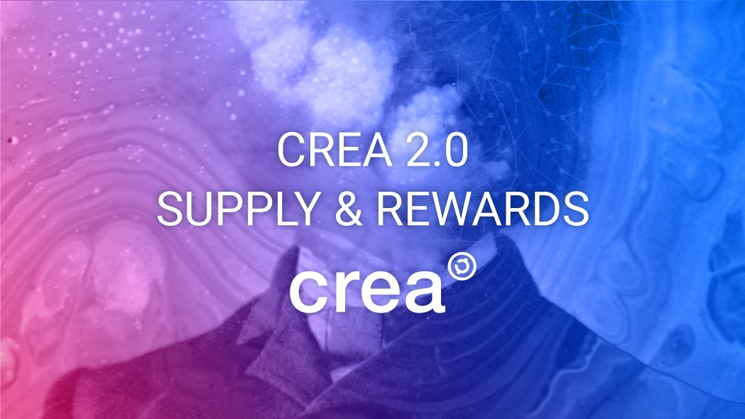 IMPORTANT INFORMATION FOR $CREA HOLDERS!   Supply and currency rewards in CREA 2.0: How the new cryptocurrency allocation and supply protocol will work?  Read:  https://www. creativechain.org/distribution-a nd-supply-of-cryptocurrency-in-crea-2-0/ &nbsp; …   #crypto #cryptocurrency #altcoins #hodl #tokens #dpos<br>http://pic.twitter.com/ZuKBdfmRxK