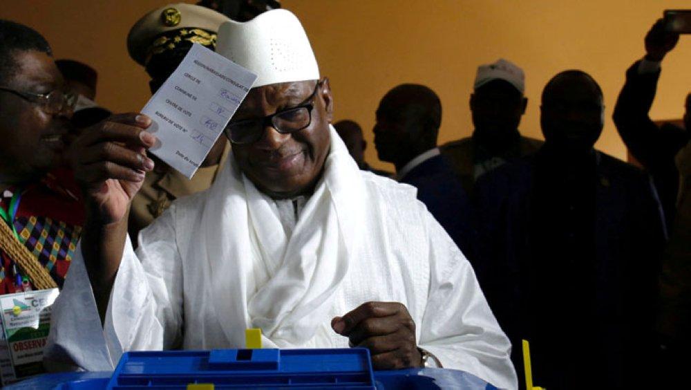 #Mali: il presidente uscente Ibrahim Boubacar #Keïta rieletto per un secondo mandato al ballottaggio con il 67% dei voti.#Africa #elezioni #IBK https://bit.ly/2KZ6ivt  - Ukustom