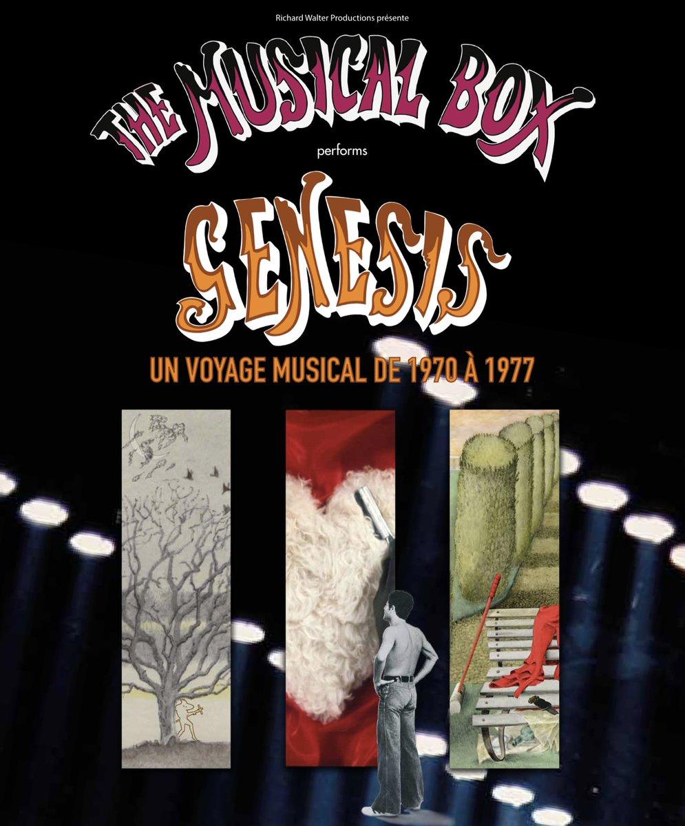 #lasttickets The Musical Box Official Performs GENESIS mardi 4 décembre @sallepleyel #themusicalbox offre à ses spectateurs un voyage musical intense dans l'univers du #GENESIS de l'ère Peter Gabriel.