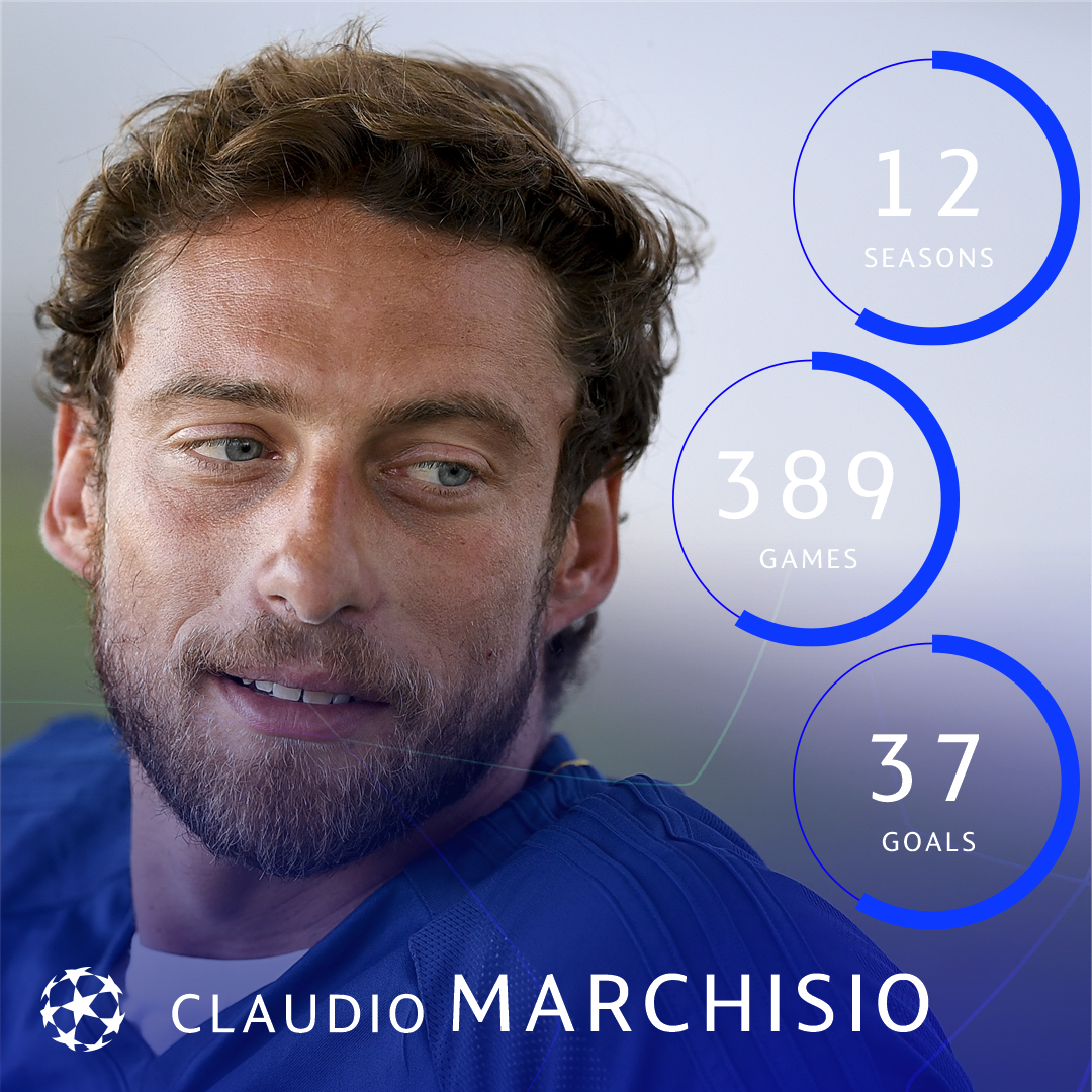 Claudio Marchisio leaves Juventus 25 years after joining the Bianconeri's academy in 1993 ⚪️⚫️    #UCL