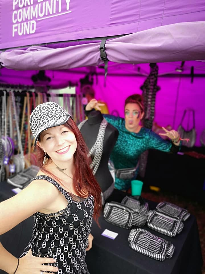 #FridayFeeling - we want to say a MASSIVE THANK YOU to all our amazing Boomtown volunteers & customers we raised over £1,200! From the bottom of our Purple Hearts THANK YOU ALL!! #Boomtown #Festival #FestivalFashion #TogetherWeCan #TransformLives #Team #Purple #PurpleFamily