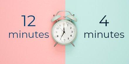 À gauche, le temps que mettent les #secours en moyenne pour arriver. À droite, le temps que l'on possède pour intervenir après un #ArrêtCardiaque... Voilà pourquoi s'équiper d'un #défibrillateur sauve des vies !