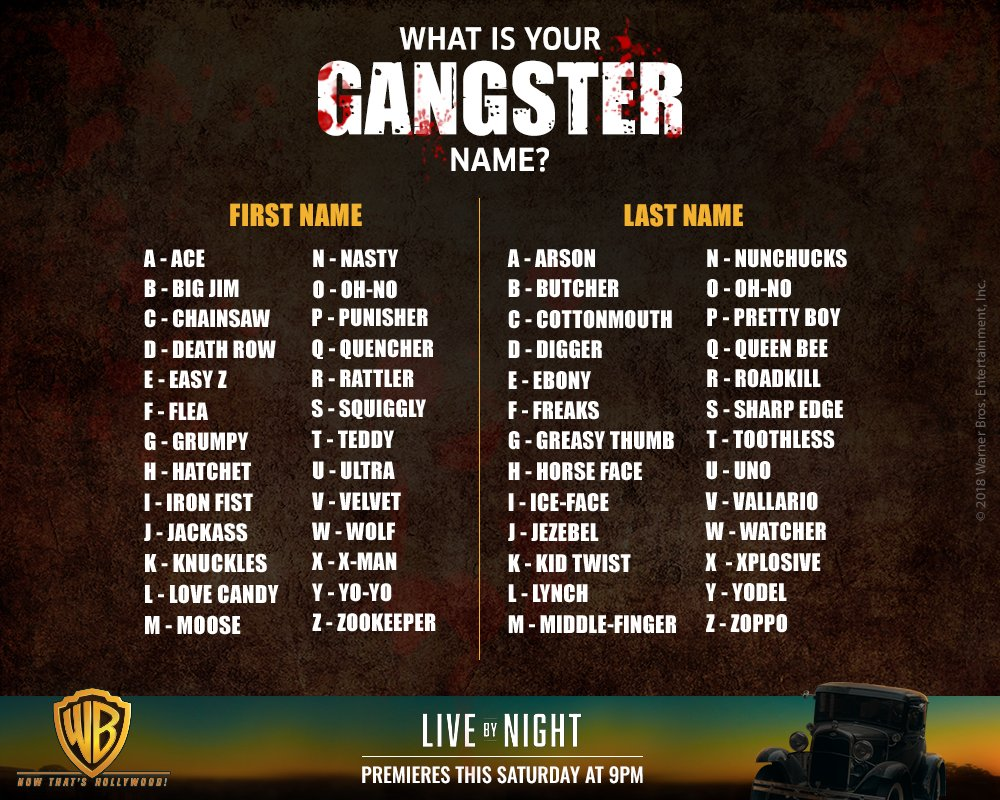 Tuaa On Twitter My Gangster Name Teddy Digger